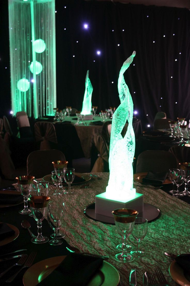 Acrylic Flame  Great for a fire and ice themed party