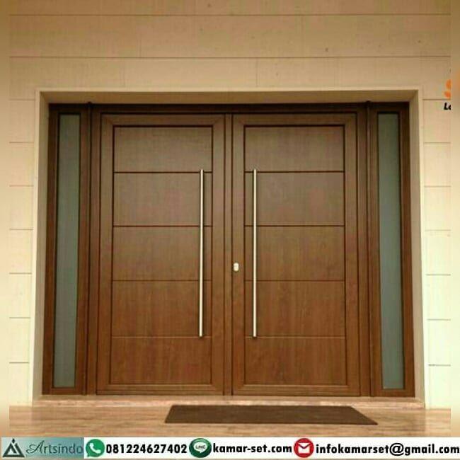 9+ Model Pintu Dua Minimalis Terbaru - Desain Dekorasi Rumah
