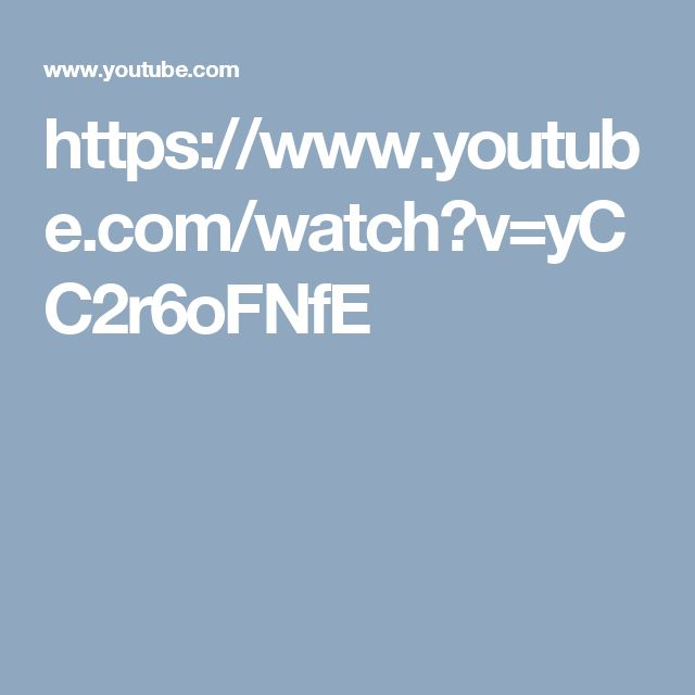 https://www.youtube.com/watch?v=yCC2r6oFNfE