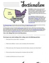 Printables Causes Of The Civil War Worksheet civil war worksheets unit s pinterest wars and worksheets