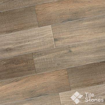 Wood Design Collection Caramello Wood Plank Porcelain Tile modern floor tiles