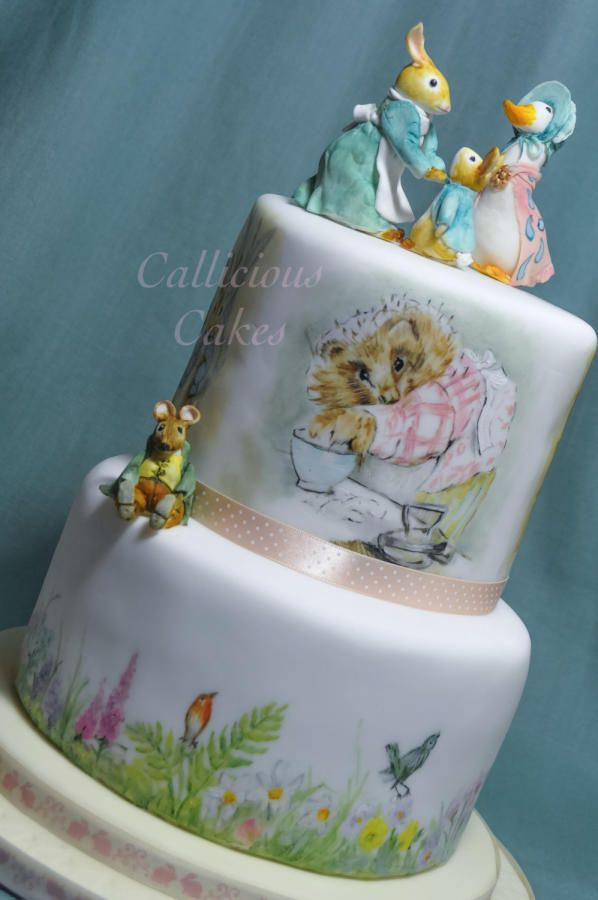 Beatrix Potter Birthday Cake - Cake by Callicious Cakes
