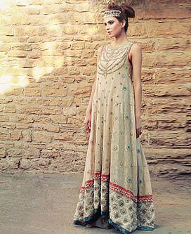 D4519 Xanadu Lace Elyse Long Anarkali Wedding Suits 2013 Tena Durrani Wakefield UK, Bollywood Anarkali Suits 2013 Wakefield