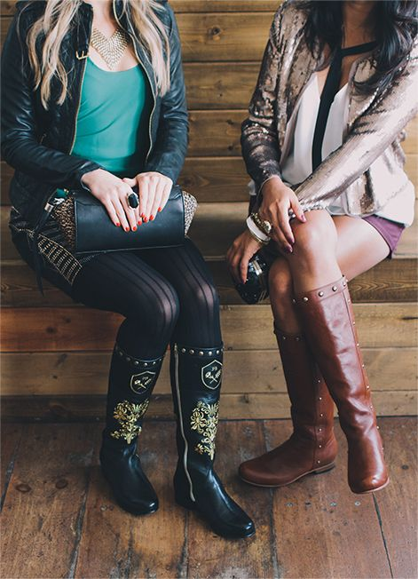 Poppy Barley F/W '13 Lookbook: The Limited Edition Poppy Barley Boot and The Downtown Boot in Kaki, made to your measurements