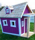 Kids Deluxe Playhouse- Purple