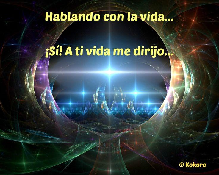 De nuevo regreso con todos y lo hago... Hablando con la vida... ¡Sí! A ti vida me dirijo...  http://kokoroalmapoesia.blogspot.com.es/2014/12/hablando-con-la-vida.html