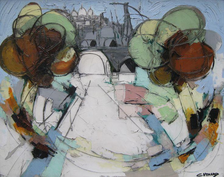 Claude Venard's 'Vers la Butte, Paris'