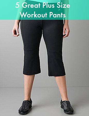 great list of plus size workout pants #plus #plussize plus size for women