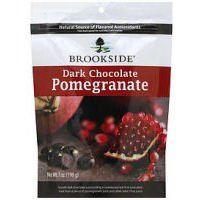 BROOKSIDE Dark Chocolate Covered pomegranate, 7-Ounce - http://bestchocolateshop.com/brookside-dark-chocolate-covered-pomegranate-7-ounce/