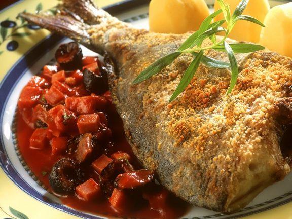 Ofengebratener Karpfen ist ein Rezept mit frischen Zutaten aus der Kategorie Fisch. Probieren Sie dieses und weitere Rezepte von EAT SMARTER!