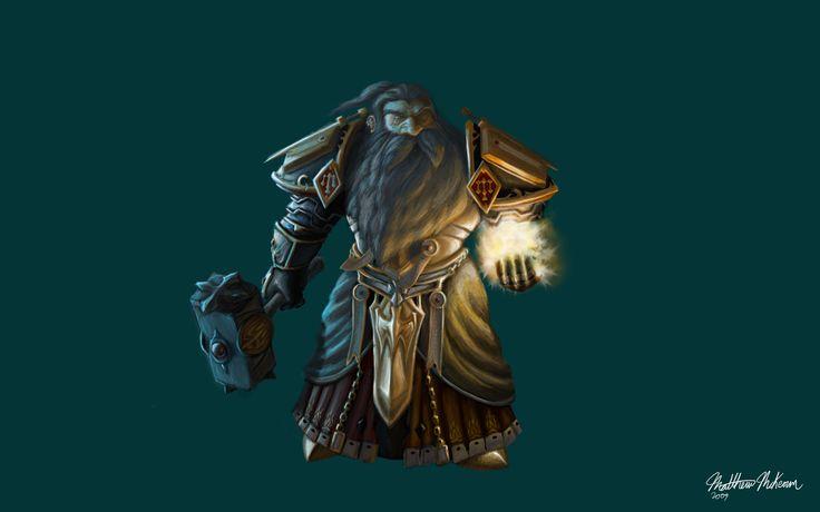 Dwarf Paladin by Kanaru92.deviantart.com on @deviantART