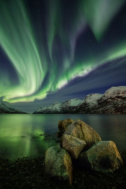 Fjord of Light | Arctic Light Photo Ole C. Salomonsen Photography