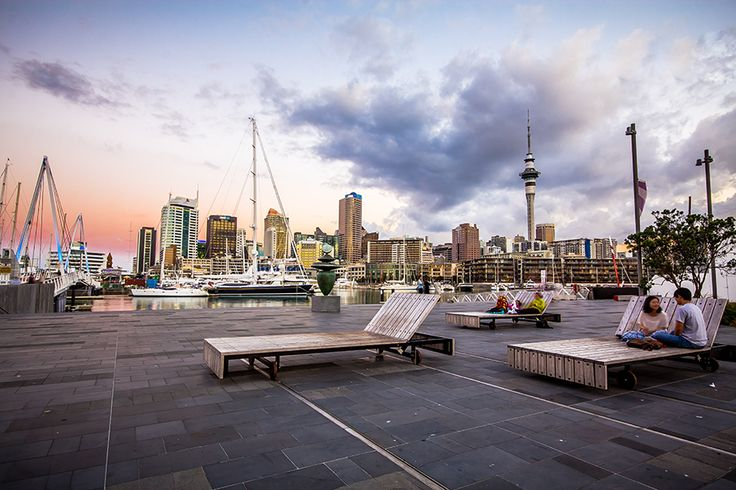 Head to Wynyard Quarter, Auckland's recently developed waterfront precinct, for great dining, m family friendly playspaces