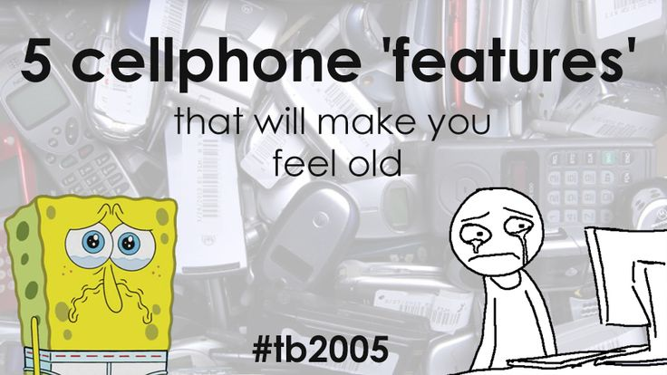 5 cellphone 'features' that will make you feel old - UnlockUnit Blog