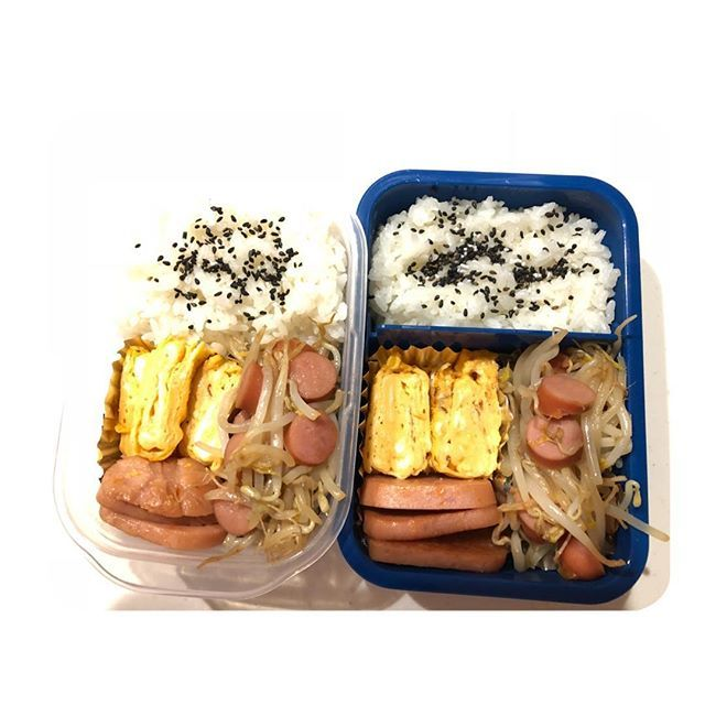 なんか久々に卵焼き🍳 作ったϋ♡ 久々すぎてめっちゃヘタ( ̽ ͟ ̽ )💬 さあ〜〜 今日は健康診断。いーやー。笑 体重やーばー。笑 がんばろー!  #おはようございます#goodmorning  #平日#仕事#job#1週間#start#頑張りましょう #早起き#弁当#主婦#cooking#手作り #肉#野菜#卵焼き#甘い#食べるの大好き#色彩 #盛り付け#雑#眠たい#気合#出勤#いってきます 🚙=꒱‧* #あと4日#頑張ろう#人生一度きり #fight#自分 !!!!!!!