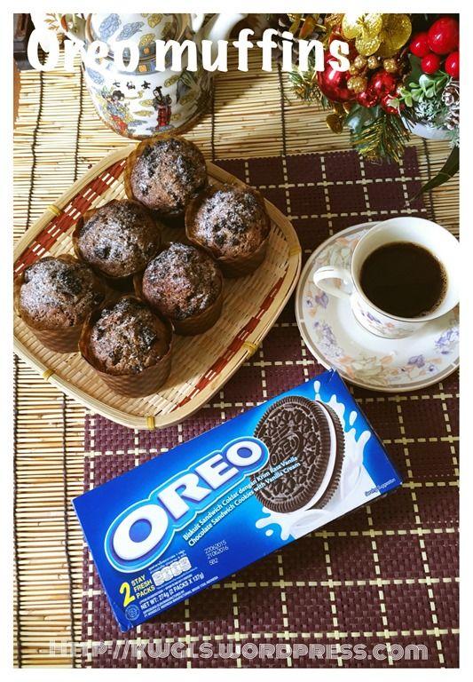 Oreo Muffins (Oreo 小松饼)#guaishushu #kenneth_goh   #oreo_muffins