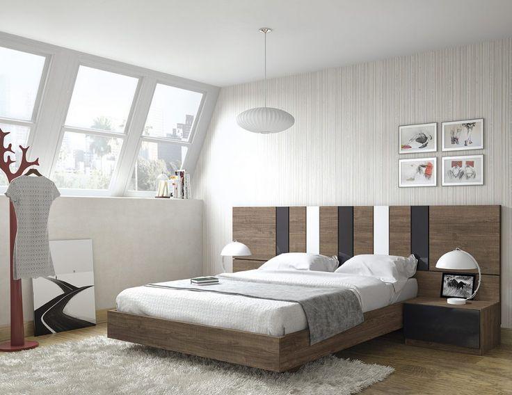Dormitorio moderno (168 – D35) - Muebles CASANOVA