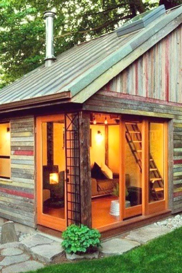 10 Easy Garden Shed repurposed designs for your backyard project - Potting Shed Designs
