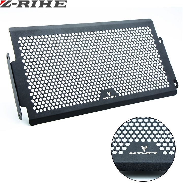 23.11$  Buy now - http://alifha.shopchina.info/1/go.php?t=32817515534 - Motorcycle Radiator Guard Protector Grille Grill Cover Stainless Steel Radiator Grill Cover For YAMAHA MT07 FZ07 FJ07 2014-2016   #SHOPPING
