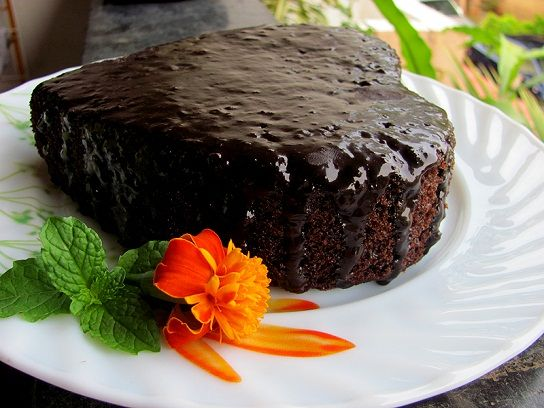 whole wheat chocolate cake | Cute Chocolate Cakes | Pinterest