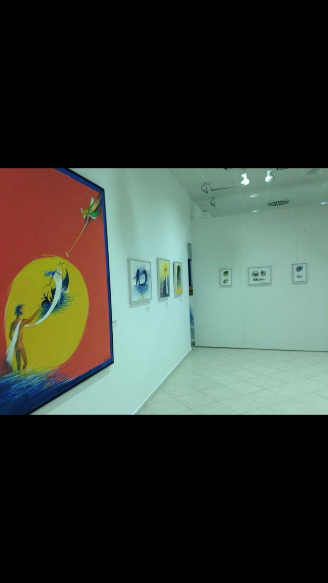 """Έκθεση Δημοσθένη Κοκκινίδη """"Ομήρου Οδύσσεια"""" ζωγραφικό δοκίμιο"""