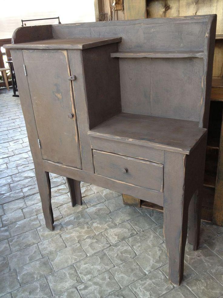 Antique Gray Kitchen Cabinets