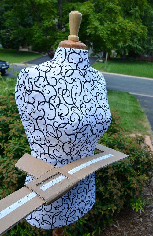 ikat bag: Fleur Deconstructed Part 2 (Homemade mannequin)