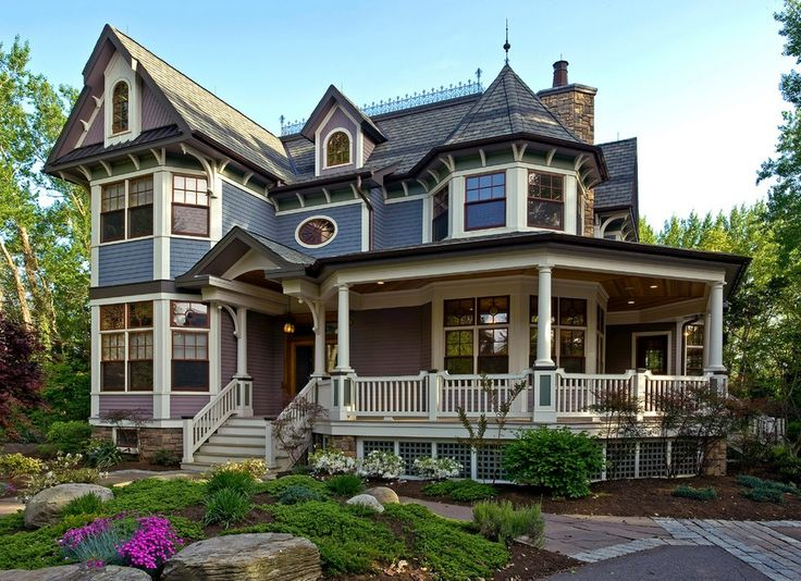 Best Victorian Homes In America | American Iconic Victorian Design Style Is  Known For Its French · Exterior Color PaletteExterior ...