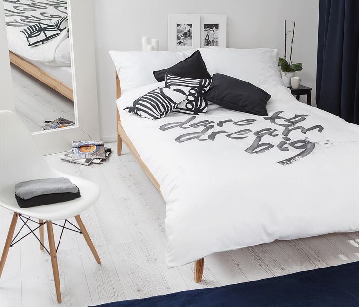 Dream big with White Pocket bedding #inspiration #bedroom