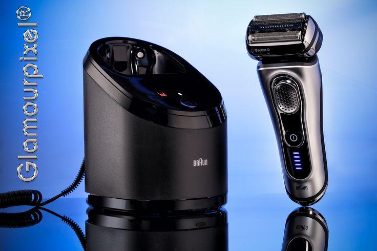 Produktfotografie Herrenrasierer Braun Syncro Sonic 9090 http://www.glamourpixel.de/produktfotografie/