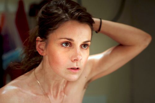Louise Brealey in The Trojan Women.
