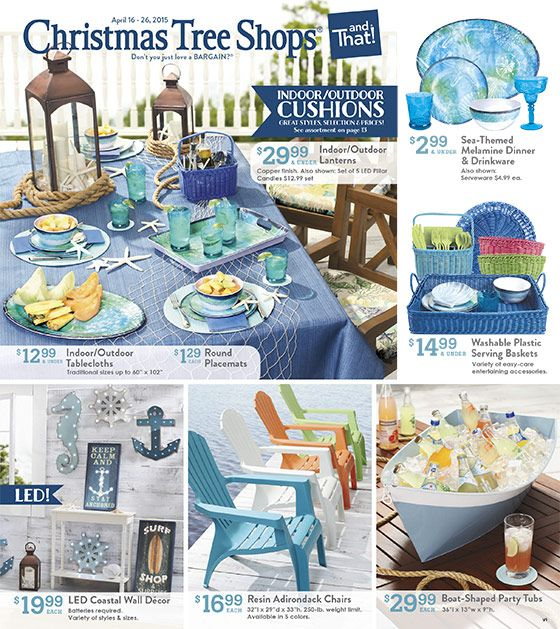 Our Latest Ads Christmas Tree Shops Andthat   Christmas Tree Shop Patio  Furniture