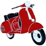 Red Moped Buckle