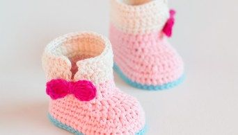 Croby Patterns | Cute Crochet Baby Loafers