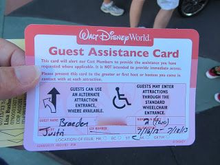 Disney with children with special needs (ADHD, autism, Down Syndrome, etc)...