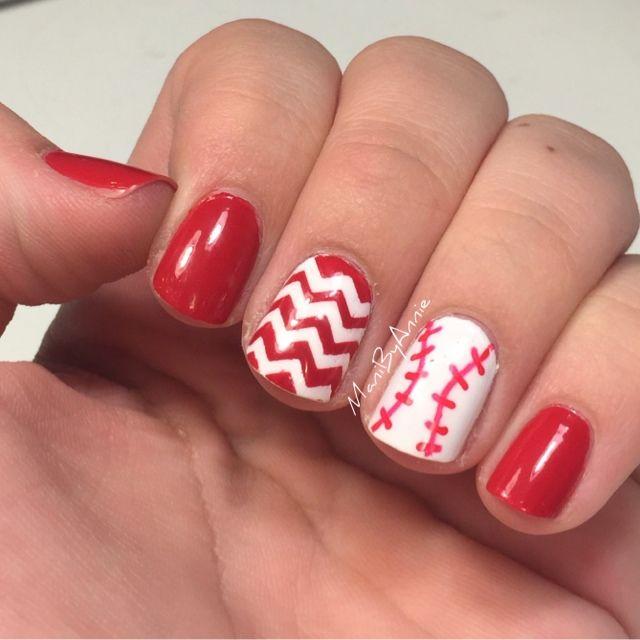 Mani by Annie: Baseball Nails 2015 #5: OPI Short-Stop!