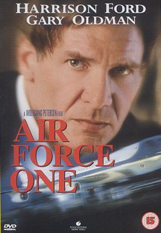 """Here's a fun fact: The cast and crew of this suspense film actually got a tour of the REAL """"Air Force One"""". No kidding! They actually got clearance to tour the actual Boeing 747 to understand how to recreate the interior look for their set."""