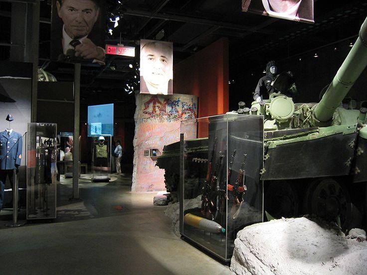 Cold War, Permanent Exhibitions, Canadian War Museum,  Exhibit Design by: Origin Studios Inc.