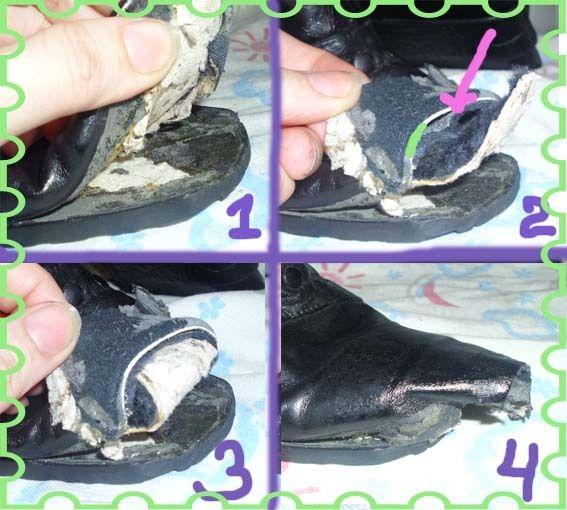 Остальное: остроносые сапоги превращаются. . . В ботиночки (как отрезать острый нос на сапогах,переделка обуви своими руками, новая жизнь старых вещей) ФОТО #1