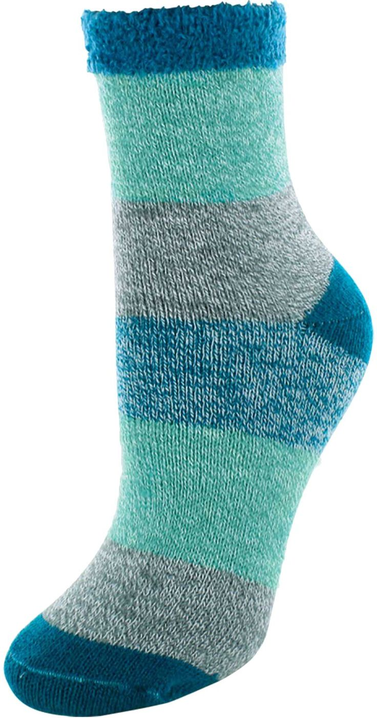 Yaktrax Women's Cozy Crew Cabin Socks | Field & Stream