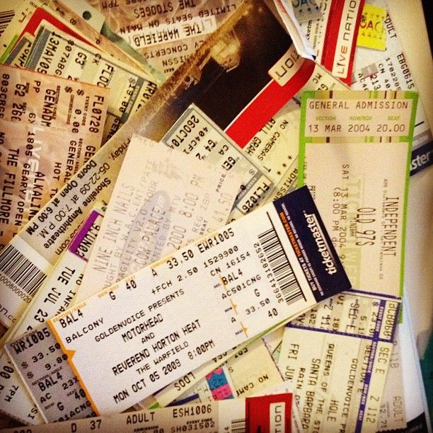 Best 25+ Ticket stubs ideas on Pinterest Ticket stub box, Movie - how to make a concert ticket