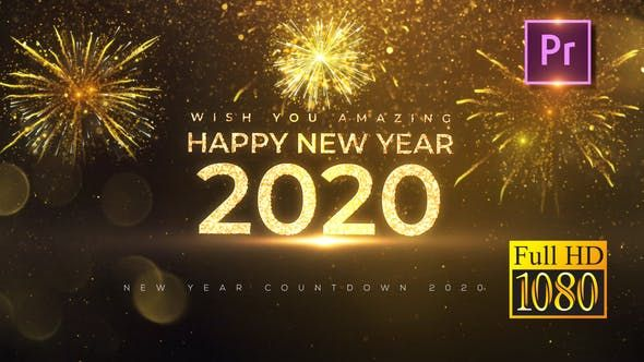 New Year Countdown 2020 Premiere Pro By Motionphysix Videohive