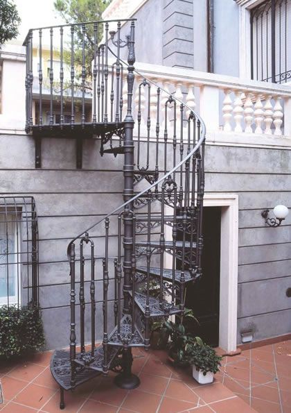 Albert Cast Iron Spiral Stair By Stair Solutions
