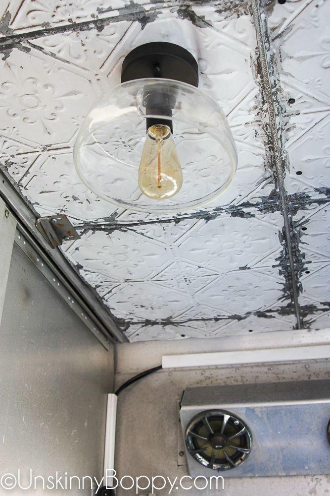 Pressed Tin Ceiling Tile Wallpaper Metal Wire Scrap Pinterest