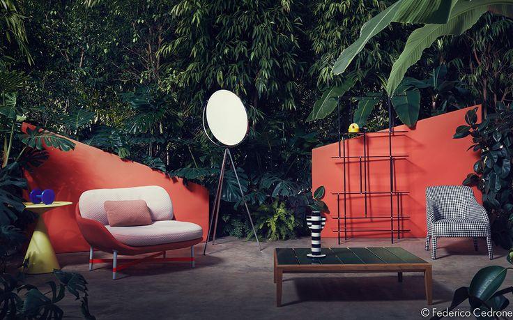 """Elle Decor """"Jungle & Colour"""" on Behance"""