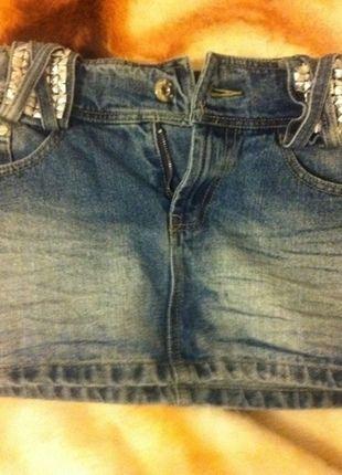 Kup mój przedmiot na #vintedpl http://www.vinted.pl/damska-odziez/spodnice/11809909-dzinsowa-mini-cekiny-cwieki-xs-s