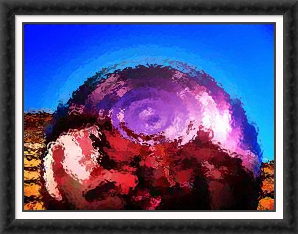 Abstract Sphere   Original art by Julie