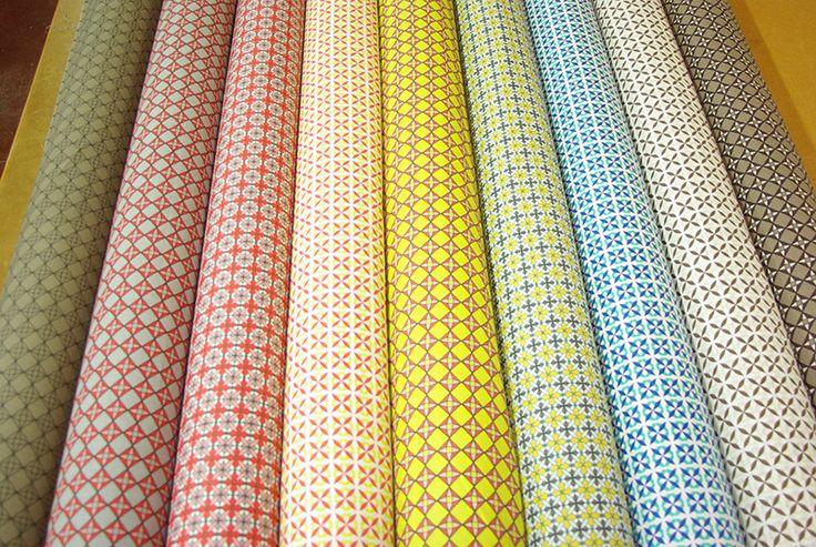Nouvel arrivage de tissus coton en 1m45. Disponibles au rayon Couture & Haute Couture de votre magasin Ellen Décoration.