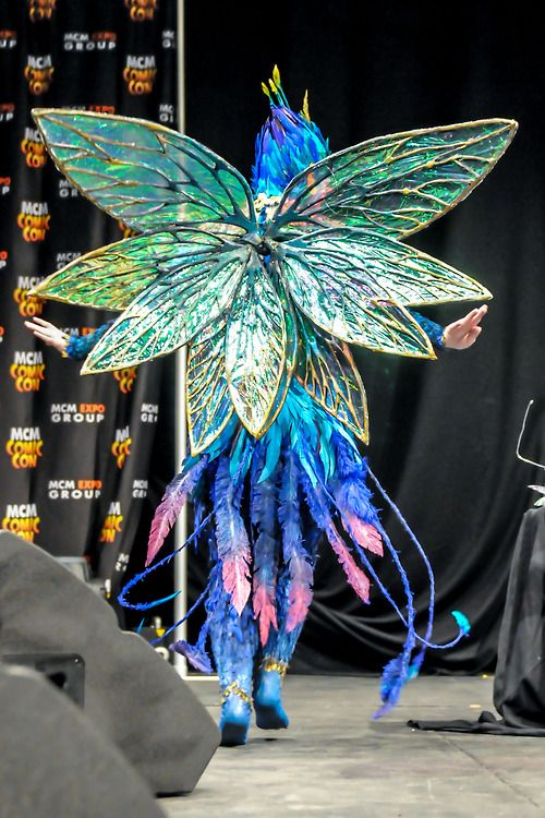 Incredible wings and tail! The Tooth Fairy from Rise of the Guardians.