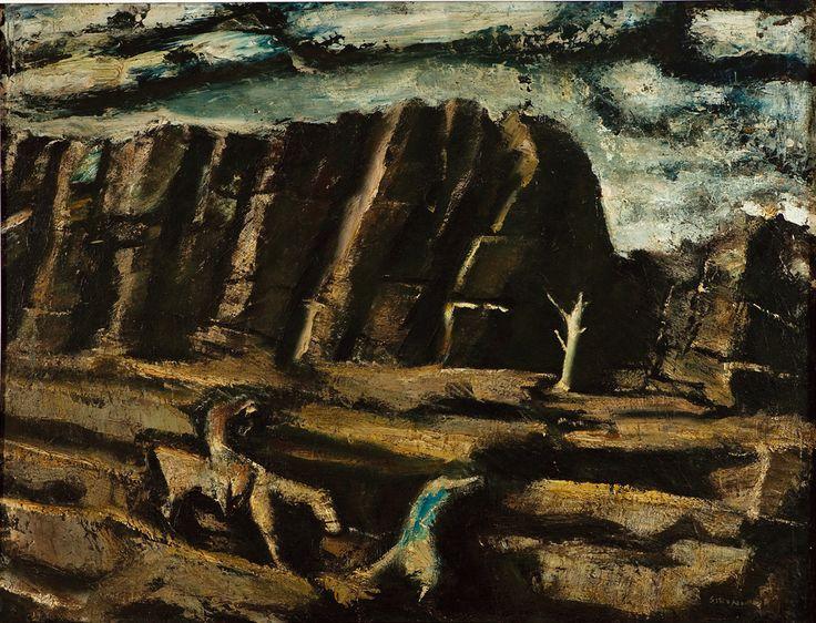 Fuga no Egito - Mario Sironi - 1947